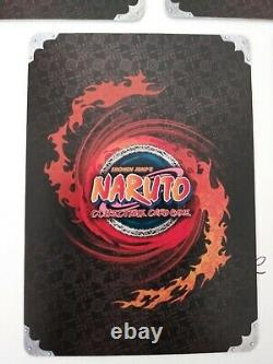 Naruto Tcg CCG Set 25 Kage Summit Kages Card Lot English Super Rares Near Mint