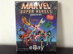 New Rare Sw Tsr Marvel Super Heroes Advanced Set Rpg