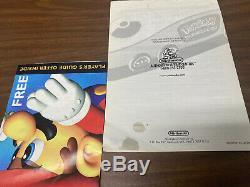 Nintendo 64 N64 Pikachu Pokemon Game Console Complete in Box CIB Super Rare Set