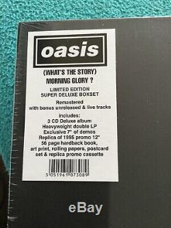 OASIS Morning Glory RARE & DELETED Limited Edition Super Deluxe Box Set Sealed