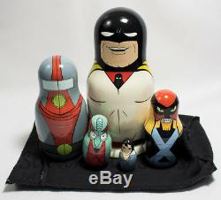 Official Space Ghost Nesting Doll Set #318 Limited Edition Super Rare Adult Swim