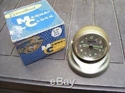 Original 1950s rare Accessory vintage Dash clock swivelhead scta GM Ford Chevy