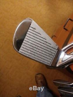 Ping Ballnamic 69 Prototype 2-pw vintage pro only grips super rare iron set 68