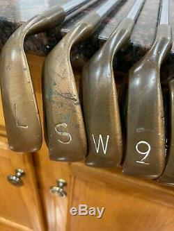 Ping eye 2 becu iron set Lefthanded Matching Serial #s super Rare 1-lob