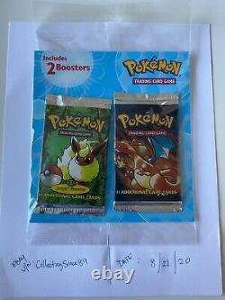 Pokémon 2002 Base Set Unlimited & Jungle Charizard / Flareon Packs Super Rare