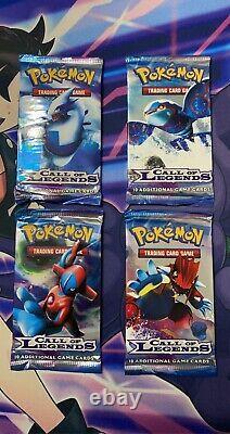 Pokémon 2011 Call Of Legends Full Art Set Of Booster Packs Factory Sealed