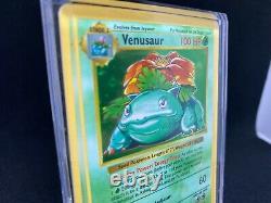 Pokemon BASE SET SHADOWLESS VENUSAUR 15/102 \ SUPER-RARE \ HOLO 1995 NM