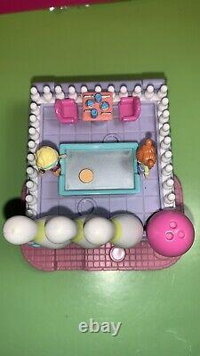 Polly Pocket 1996 Bowling Alley Super RARE COMPLETE SET