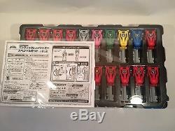 Power Rangers Super Megaforc one click Ranger Key Set Gokaiger Limited rare