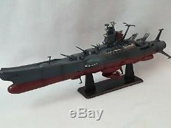 RARE Space Battleship Yamato Star Blazers Super Mechanics Taito 40cm figures set