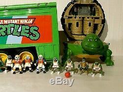 RARE TMNT Mini Mutant Play Set Super Trailer Teenage Mutant Ninja Turtles