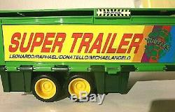 RARE TMNT Mini Mutant Play Set Super Trailer complete Withbox