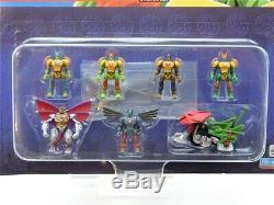 RARE TMNT Teenage Mutant Ninja Turtles Mini Mutants set of super turtles figures