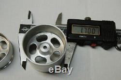 RC10 Marker Aluminum wheels Super rare set With Correct Rear Hub/Axle included
