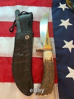Randall Knife Model 4-6, S. S. Glades Hunter Prototype Set! Super Rare