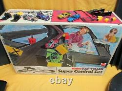 Rare 1972 Hot Wheels Sizzlers Super Control Set With 4 Running Cars