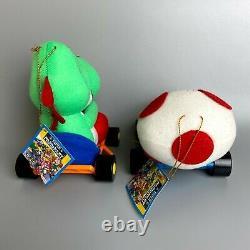 Rare 1993 Super Mario Kart cart Nintendo Plush doll 5 body set Takara Tomy japan