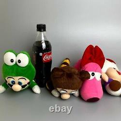 Rare 1993 Super Mario World Nintendo Plush Mario Toad Catherine 4 Body Set