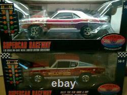 Rare 1/18 Hwy 61 Challenger Cuda Pro Stock Drag Super Street Billy The Kid Set