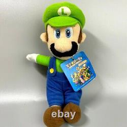Rare 2003 Super Mario Party 5 Mario Luigi 2set Nintendo Sanei Hudson 7 Plush