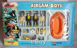 Rare Airgam Boys Oceanic Set 41482 Super Stars Pyroplast Greek 80's Greece New
