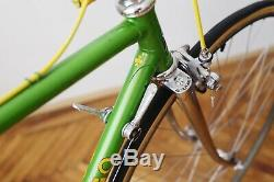 Rare Green Colnago Super 1979 Roadbike with Campagnolo Nuovo Record Groupset