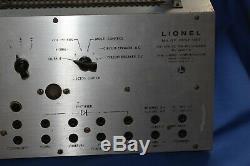 Rare Lionel 5f Test Set Super O And Ho Dealer Service Station