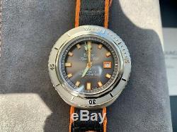 Rare NEW Zodiac Super Sea Wolf 68 Limited Edition 50th Anniversary Watch SET