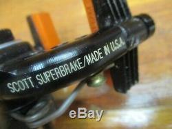 Rare Nos Vintage Scott Super Brake Caliper Set Black