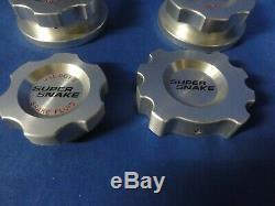 Rare Shelby Super Snake Billet Aluminum Engine 7 piece Cap Set free shipping