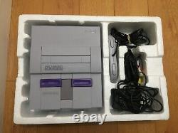 Rare Walmart SNES Control Set with Super Gameboy. Matching Serial Numbers! Tested