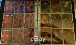 Resident Evil 2 Leon Claire Wildstorm Trading Card SET 1998 Super RARE