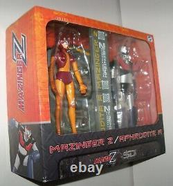 Retired rare SD Toys MAZINGER Z + APHRODITE A Super Robot 6 Figure Bundle set