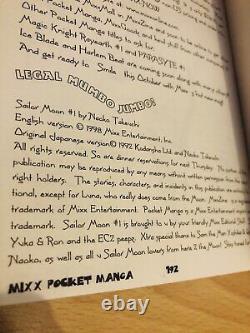 SAILOR MOON POCKET MIXX StarS SuperS Manga Collection Complete Set ENGLISH RARE