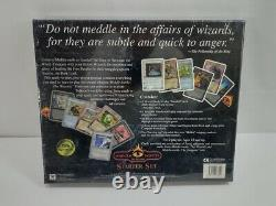 SEALED The Wizards Starter Box Set Middle-Earth CCG Super Rare! New 1997