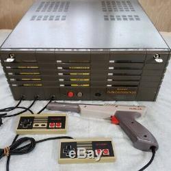SHARP FAMICOMSTATION FAMICOM BOX With 10 Game Set Arcade Game Console Super Rare