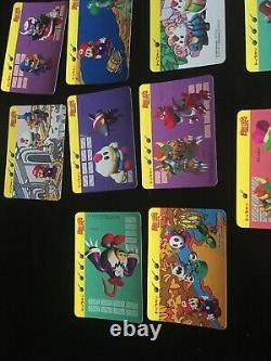 SUPER MARIO RPG Card Set NINTENDO SQUARE 1995 Rare Japan Figure Toy Mallow Geno