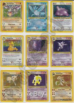SUPER RARE COLLECTORS Pokemon Card Complete Sets From 1999 2018 (Pre EX Lv X)