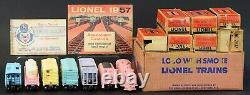 SUPER RARE Lionel Postwar Locomotive Girls Train Set With Tender, Cars, Boxes