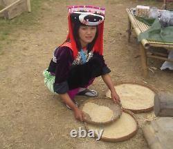 SUPER RARE! Old Lisu Hill Tribe Opium Tool Set & Bamboo Case
