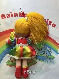 SUPER RARE RAINBOW BRITE COMPLETE DRESS UP DOLLS SET Mattel 1983