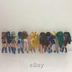 Sailor Moon 11 Vintage Figures Super Rare Bandai 11 dolls set from Japan D1