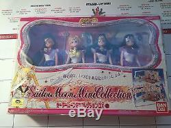 Sailor Moon World Mini Collection Doll Set BRAND NEW! Super Rare