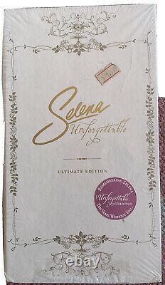 Selena Quintanilla UNFORGETTABLE Ultimate EditionSuperRare CD/ DVD Set SEALED