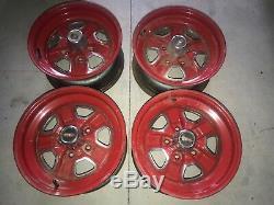 Set of 4 Super RARE Olds Oldsmobile Cutlass 442 W30 Wheels SSII SSll 15 wheels