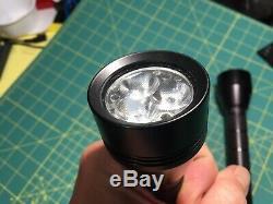 Set of Malkoff Wildcat V4 flashlights, Neutral White & Warm White Super Rare