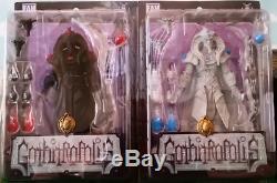 Set of Super Rare Light & Dark Talisman Gothitropolis Scarabus Action Figures