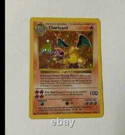 Shadowless Charizard 1999 Base Set 4/102 Holo Pokemon Card WOTC SUPER RARE