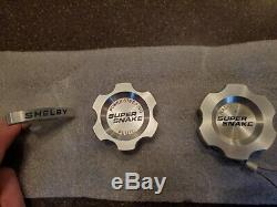 Shelby GT500 Super Snake engine cap set, SUPER RARE