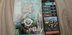 Snake Pass Super Rare Games #7 (NewithSealed) Nintendo Switch plus full card set